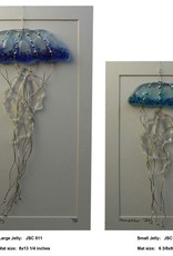 "Rare Earth Gallery Jellyfish (Suncatcher, Sm, 3""x9"")"