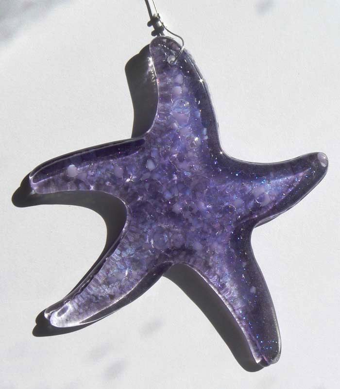 "Rare Earth Gallery Sea Star (Suncatcher, 4""D.)"
