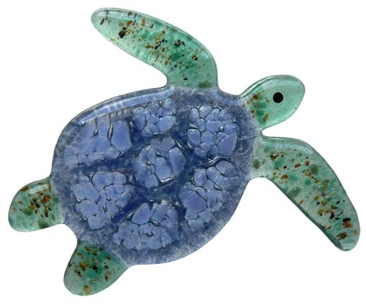 "Rare Earth Gallery Sea Turtle (Suncatcher, 4""x5"")"