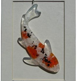 "Rare Earth Gallery Koi (Suncatcher, Sm, 3""x5"")"