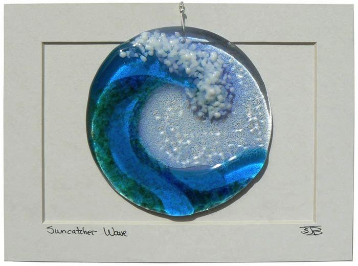 "Rare Earth Gallery Wave Disk (Suncatcher, 4""D.)"