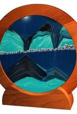 "Rare Earth Gallery OCEAN BLUE (Rd 11""D, Cherry)"