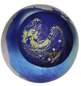 """Rare Earth Gallery Paperweight, Big Dipper (Celestial, 3""""D, Light Base, Velvet Box)"""