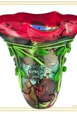 Rare Earth Gallery Vase, Henton Art Glass