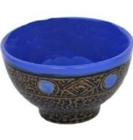 "Rare Earth Gallery Bowl (Blue, 5"" D.)"