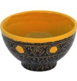 "Rare Earth Gallery Bowl (Yellow, 5"" D.)"