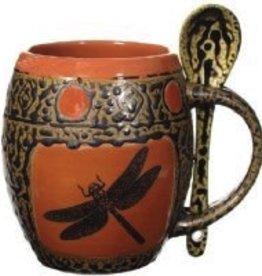 Rare Earth Gallery Mug (w/Spoon) Dragonfly