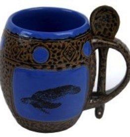 Rare Earth Gallery Mug (w/Spoon) Sea Turtle
