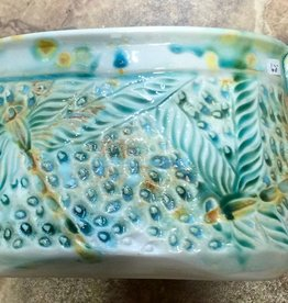 Gail Snively Vase / Oval Dish (#112)