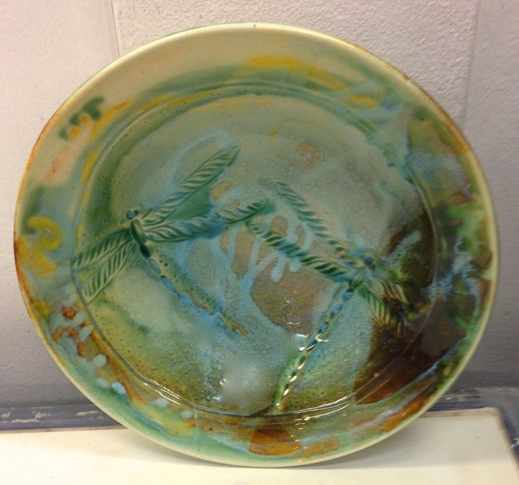 Gail Snively Bowl, Carved (Md, #120M)