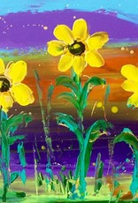 Lisa Jill Allison Sunny Side Up (Original Acrylic, Signed, 30x15)
