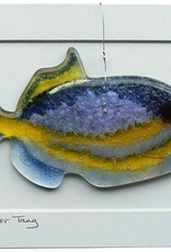 "Rare Earth Gallery Triggerfish (Suncatcher, 6""x3"")"