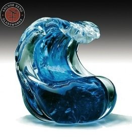 Rare Earth Gallery Paperweight, Wave (Md)