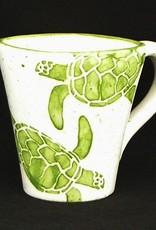 Rare Earth Gallery Mug, Sea Turtle (Green,  14oz)