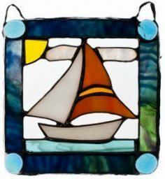 Rare Earth Gallery Stained Glass: Easy Sailing