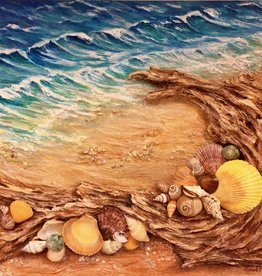 Carol Merritt Gifts From The Sea (Original Acrylic, Signed, 16x20)