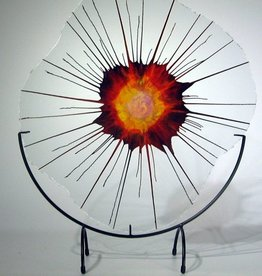 Rare Earth Gallery Amy (EnergyWeb with Half-Moon Stand)