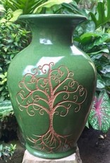 Rare Earth Gallery Vase, Tree of Life