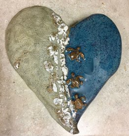 Rare Earth Gallery Heart (Turtles, Puffy)