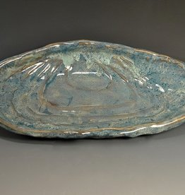 Rare Earth Gallery Platter, Mussel (Lg)