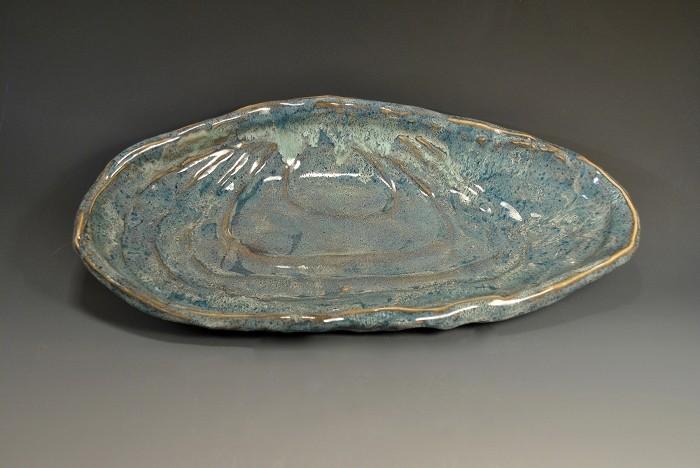 Rare Earth Gallery Platter, Mussel (Lg)