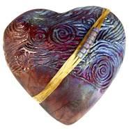 Rare Earth Gallery innerSpirit Rattle: Starry Starry Night (Heart)
