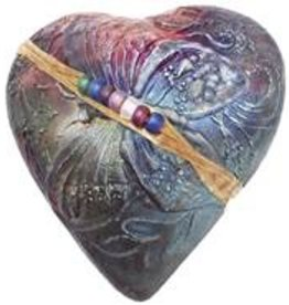 Rare Earth Gallery innerSpirit Rattle: Butterfly (Heart)