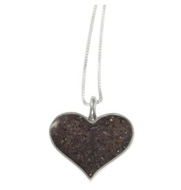 Rare Earth Gallery Necklace, Heart of Sand