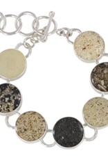 Rare Earth Gallery Bracelet, Traveler Seven Sands