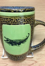 Rare Earth Gallery Alligator Mug w/Lid