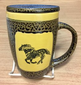 Rare Earth Gallery Horse (Single) Mug w/Lid