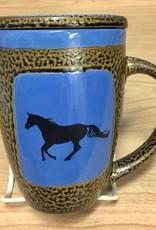 Rare Earth Gallery Horse (Single) Mug w/Lid