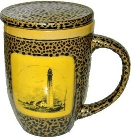 Rare Earth Gallery Lighthouse Mug w/Lid