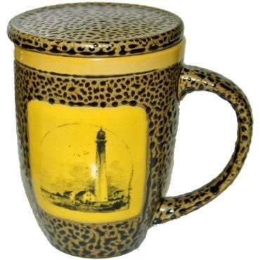 Rare Earth Gallery Lighthouse Mug w/Lid