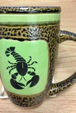 Rare Earth Gallery Lobster (Northern) Mug w/Lid