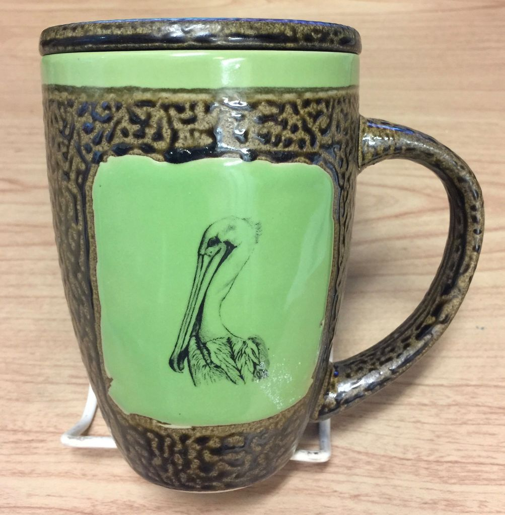 Rare Earth Gallery Pelican Mug w/Lid