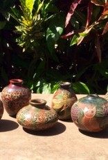 "Rare Earth Gallery Miniature Vases (Approx. 4.5-6""H x 4""D.)"