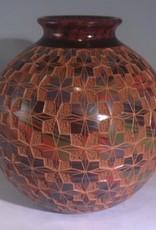 "Rare Earth Gallery Pot (Star, 8.5""H x 8""D.)"