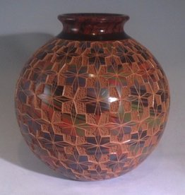 "Rare Earth Gallery Star Pot (Approx. 8.5""H x 8""D.)"