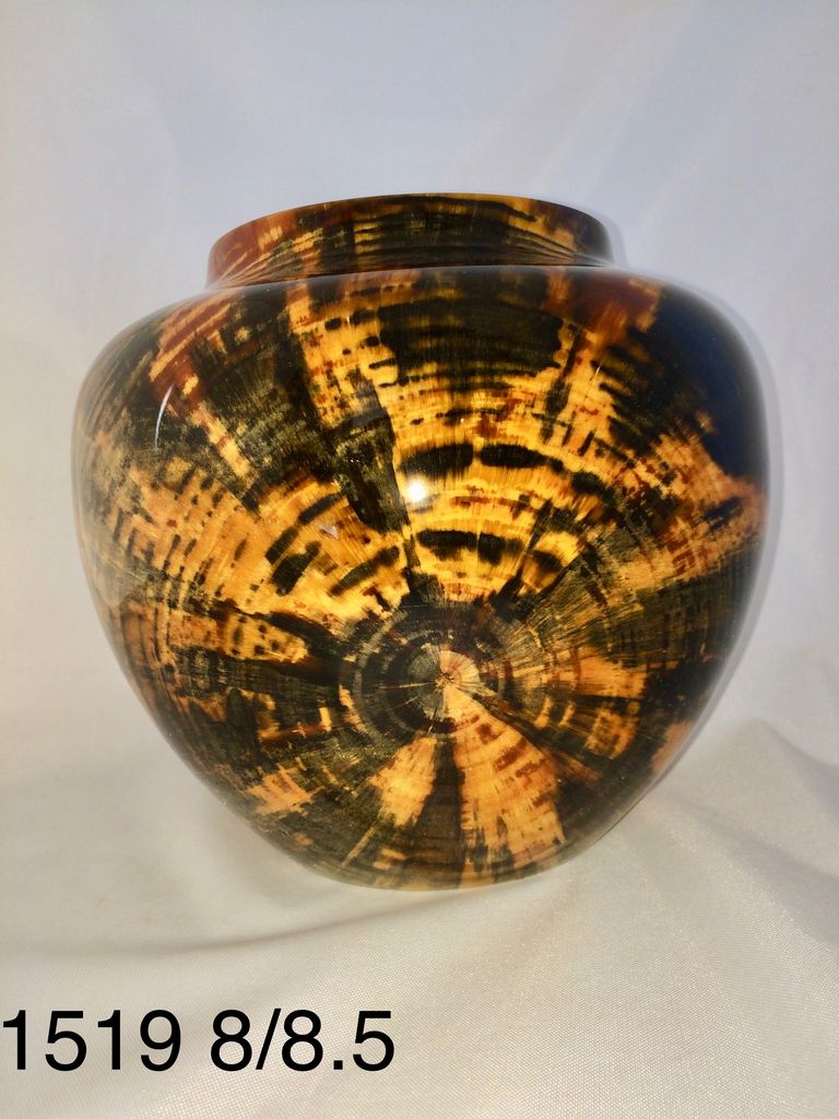 Joe Montagnino Vase, Norfolk Island Pine (#1519)
