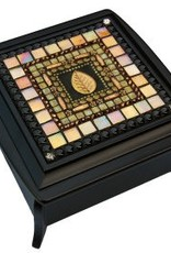 Rare Earth Gallery Daffodil Leaf Jewelry Box