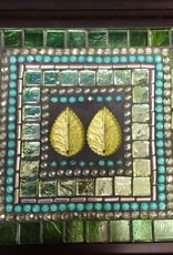 Rare Earth Gallery Emerald Leaf Jewelry Box