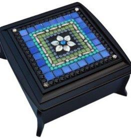 Rare Earth Gallery Iris Flower Jewelry Box