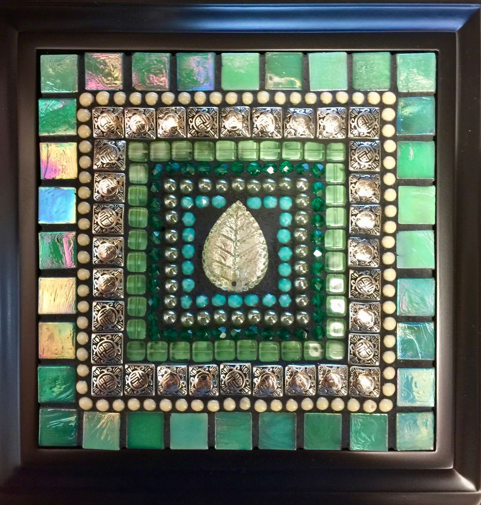 Rare Earth Gallery Teal Leaf Jewelry Box