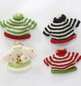Rare Earth Gallery HOLIDAY SWEATER ORNAMENT