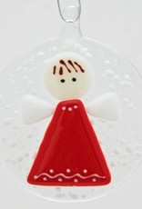 Rare Earth Gallery ANGEL IN A SNOWSTORM ORNAMENT