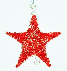 Rare Earth Gallery SPRINKLE STAR ORNAMENT