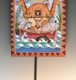 Rare Earth Gallery NOAH'S ARK (Pendulum Clock)