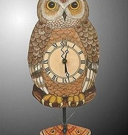 Rare Earth Gallery OWL (Pendulum Clock)