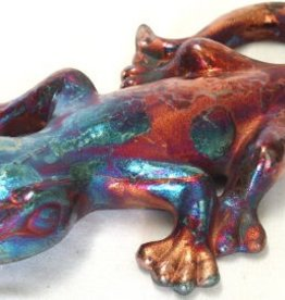 Rare Earth Gallery Gecko (Raku, Sm, #171)